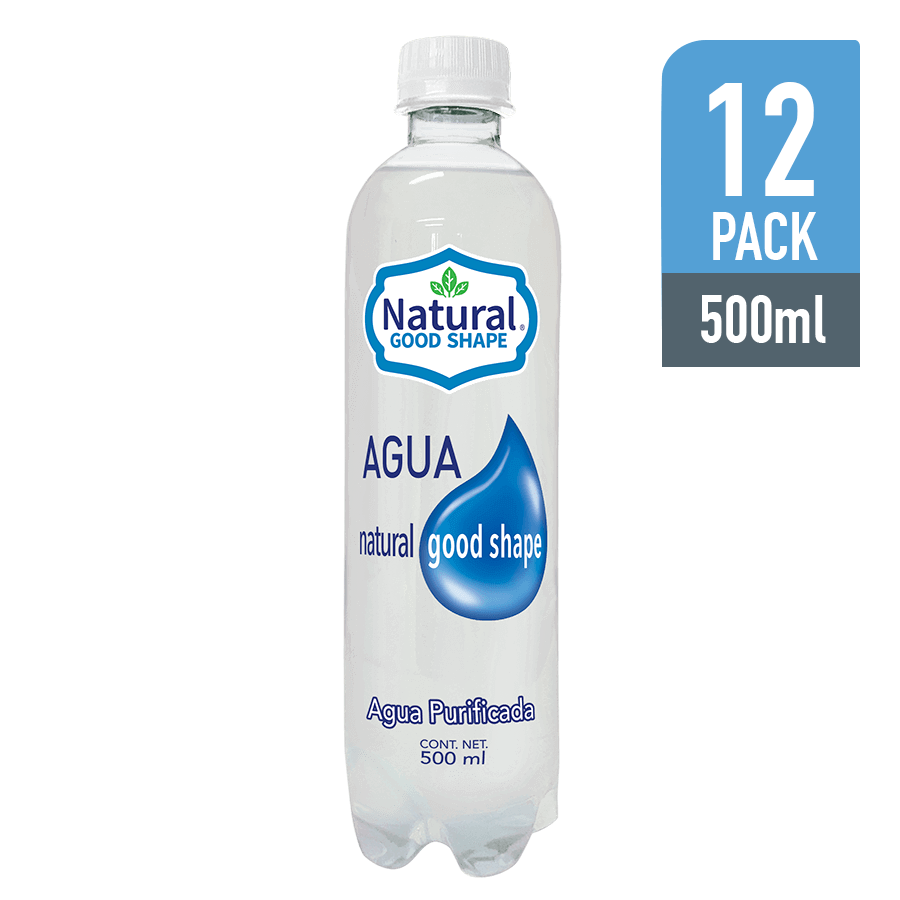 Agua Natural Good Shape 500ML