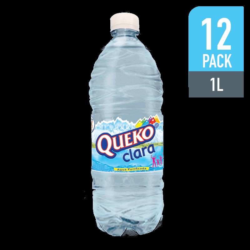 Agua Queko Clara 1000ML