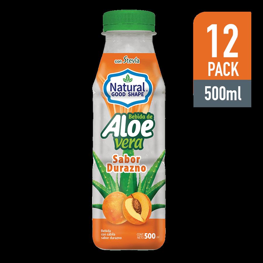 Bebida de Aloe con Durazno 500ML