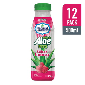Bebida de Aloe con Frambuesa 500ML