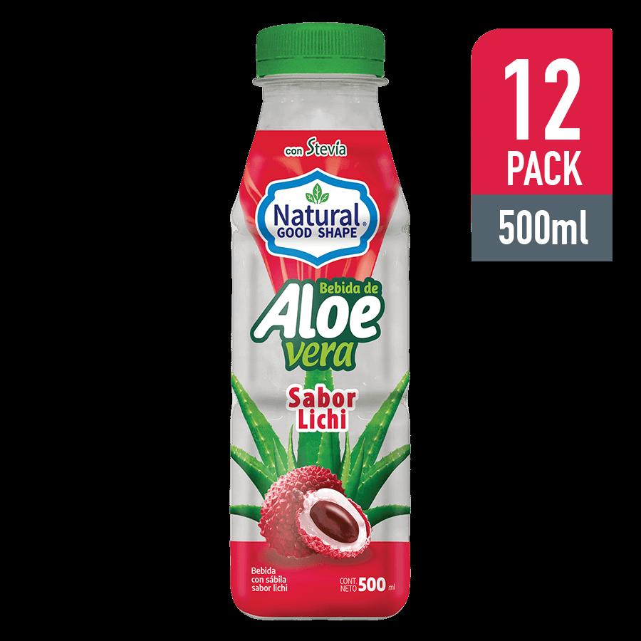 Bebida de Aloe y Lynchee 500ML