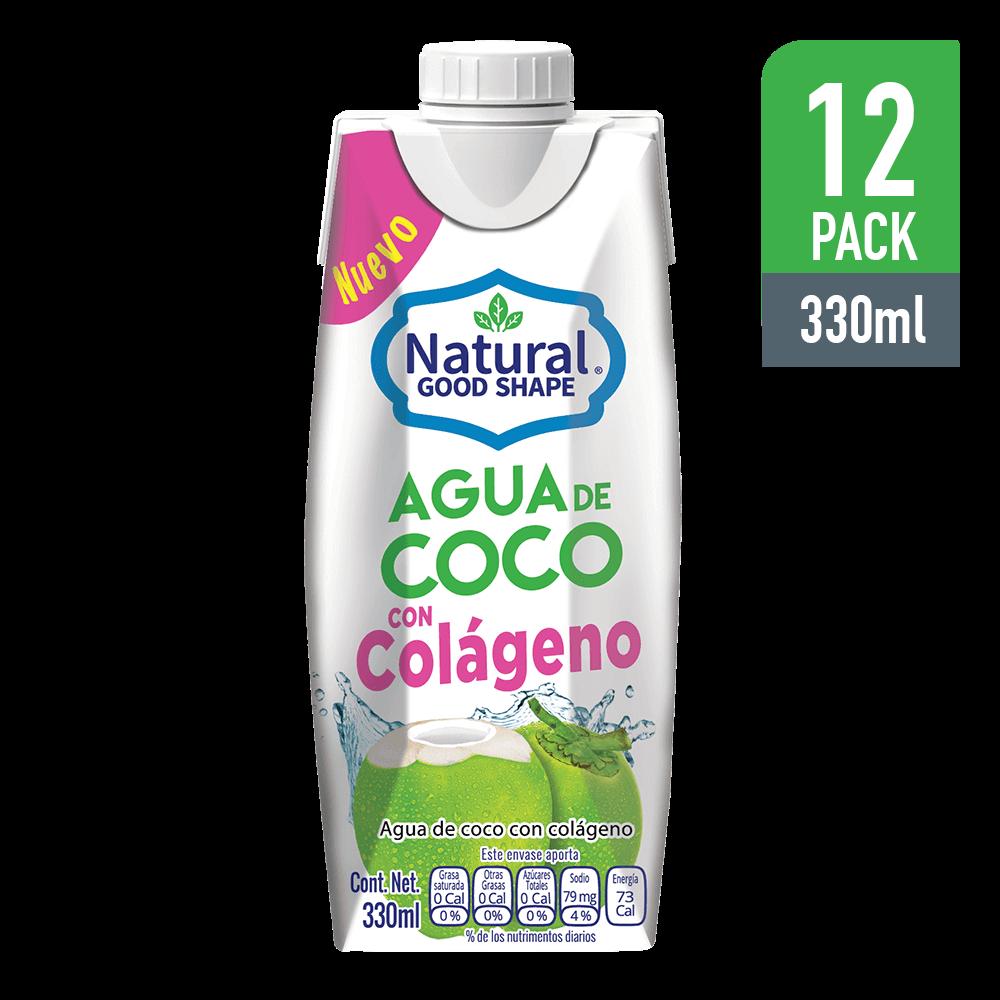 Bebida Agua de Coco con Colágeno 330 ml