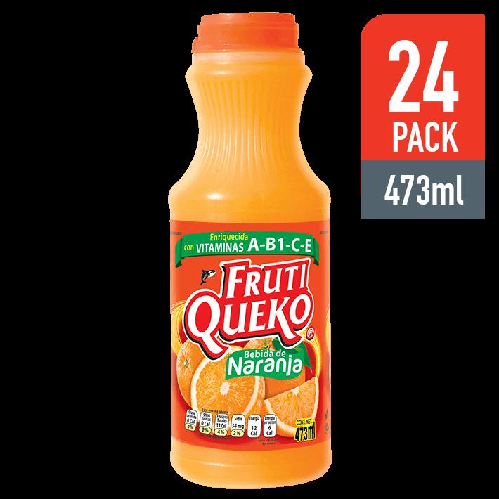 FrutiQueko Naranja 473ML