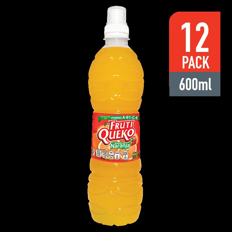 FrutiQueko de Naranja 600ML